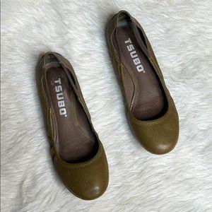TSUBO Leather Flats Size 10